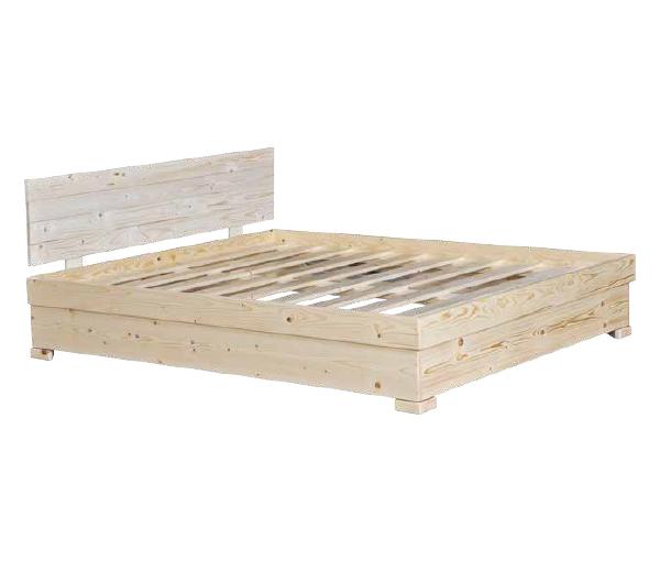 ענק בסיס מיטה מעץ מלא – דגם H72 | האנגר המזרונים IJ-91